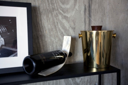Cow Horn Wine Holder