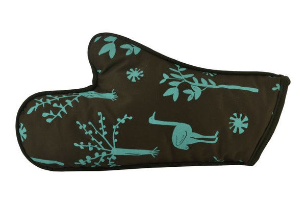 Oven Glove, Ostriches and Trees