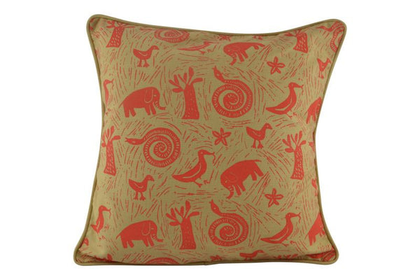 Namibian Cushion, Elephants