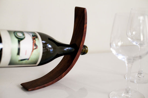 Original Wooden Wine Holder