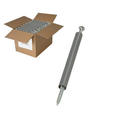 25 lb BROWN Gutter Screws with spacers
