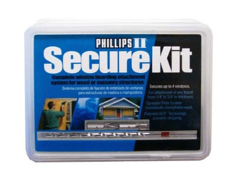 Hurricane Secure Kit for Windows Doors