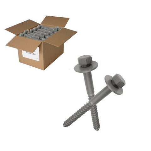 "150 Pc 1/2"" X 8"" Lag Bolts with washers"