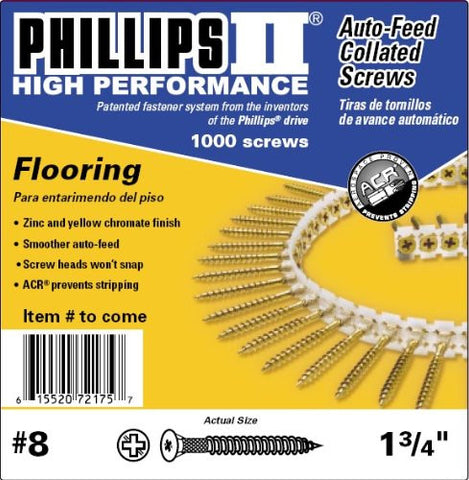 "5"" Phillips II Driver Bit for Autofeed"