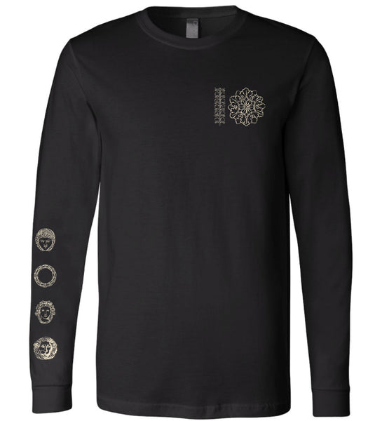 New!  Pre-sale - Black Long Sleeve Tee