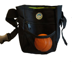 Jasper Swag Bag Mini Dog Treat Bag with Ball in Pocket