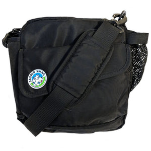 Black On the Fly Dog Walking Bag