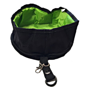 Gulp & Go Jasper Swag Collapsible Foldable Travel Bowl