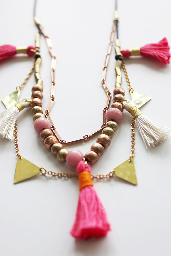 The Bright Blossoms Necklace