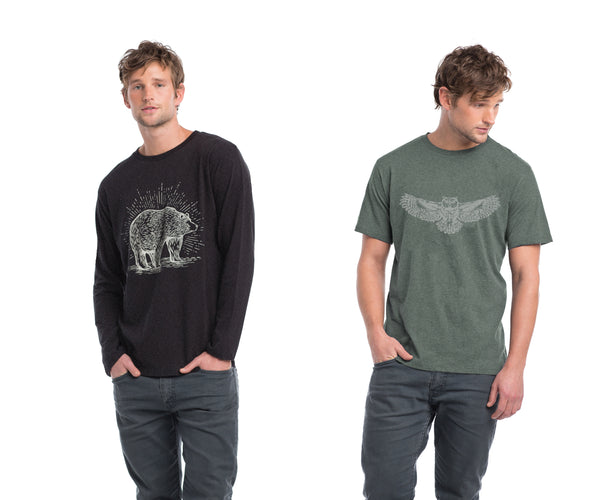 Mens organic cotton t-shirt
