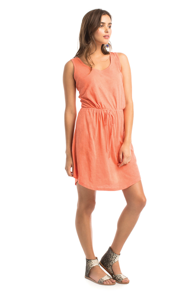 Slub Seabright Dress