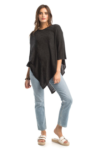 The Eco Luxe V-Neck Poncho