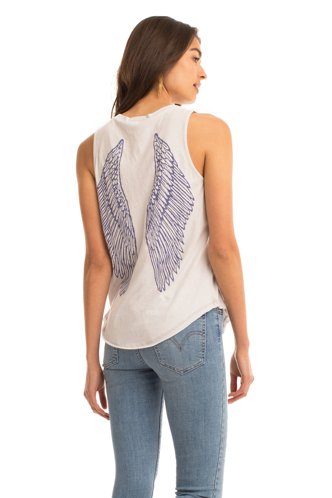Wings Muscle Tank