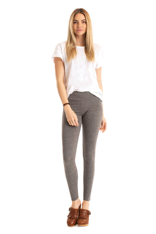 Heathered Basic Legging