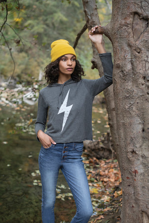 Lightning Bolt Cali Hoodie  - Synergy Organic Clothing