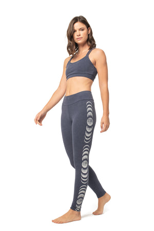 Moon Phases Basic Legging PARIS NIGHT / XS - Synergy Organic Clothing