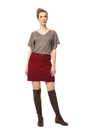 Cypress Top SPICE BROWN / XS - Synergy Organic Clothing