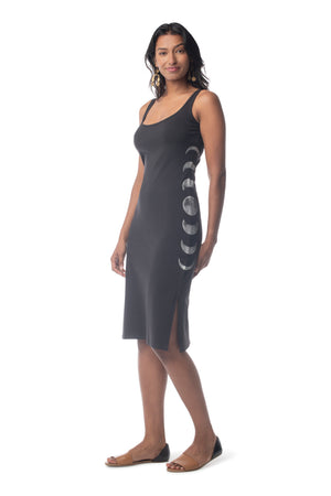 Moon Phases Destiny Dress BLACK / XS - Synergy Organic Clothing