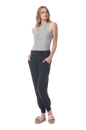 Bleeker Pant BLACK / XS - Synergy Organic Clothing