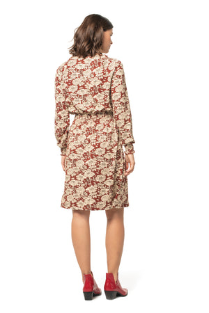 Holiday Floral Hazel Dress  - Synergy Organic Clothing