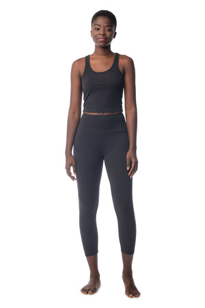 Lighten Tank BLACK / XS - Synergy Organic Clothing