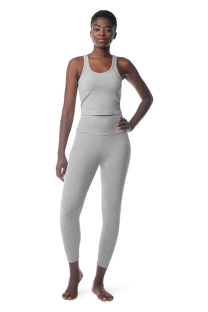 Lighten Tank HEATHER GREY / XS - Synergy Organic Clothing