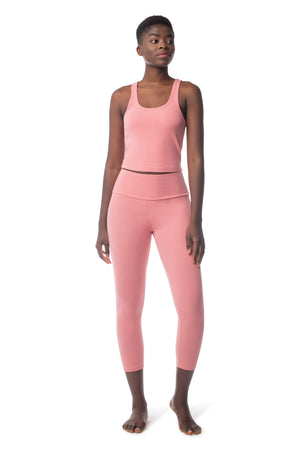 Lighten Tank MAUVE / XS - Synergy Organic Clothing