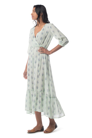 Lotus Ruby Maxi  - Synergy Organic Clothing