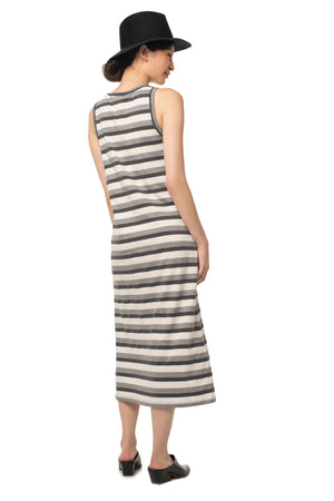 Striped Megan Dress