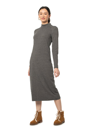 Pebble Ginger Midi Dress