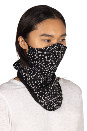 Screen Print Bandana Mask with Earloop  - Synergy Organic Clothing
