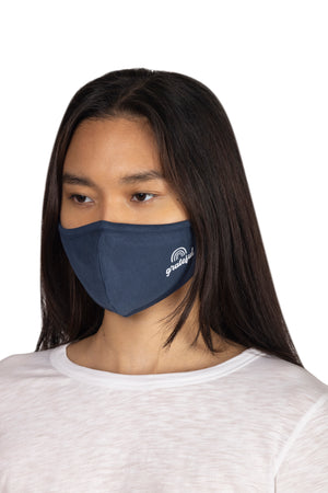 Adult Screen Print Face Mask GRATEFUL / OS - Synergy Organic Clothing