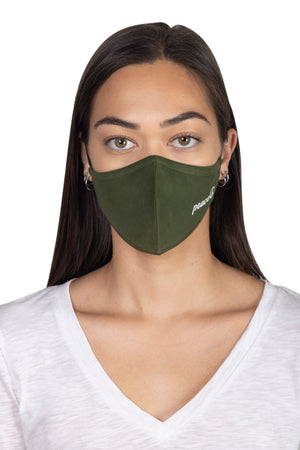 Adult Screen Print Face Mask PEACE / OS - Synergy Organic Clothing