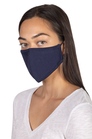 Adult Face Mask with Toggle SOLID / OS - Synergy Organic Clothing
