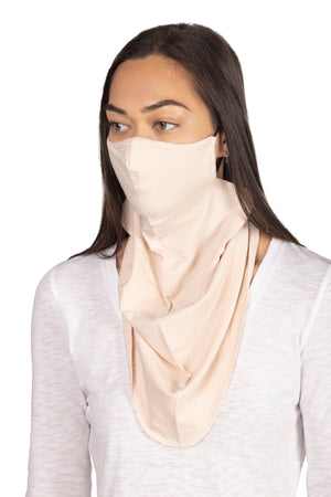 Jacquard Bandana Mask with Earloop