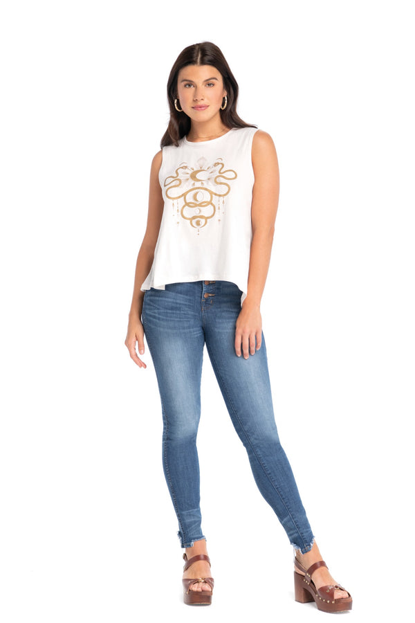 Love By The Moon Jasmin Top
