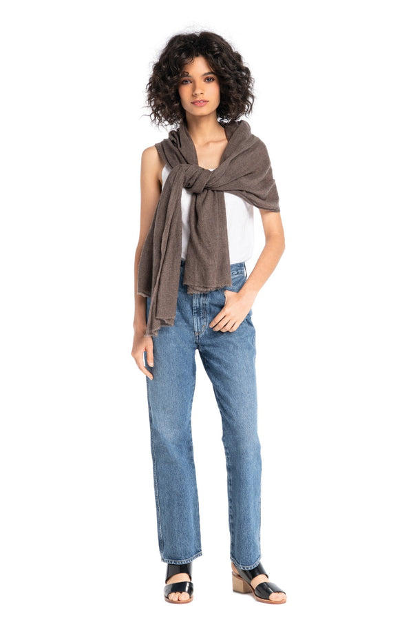 The Solid Pashmina