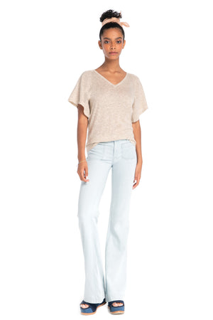 The Cypress Top LIGHT TAUPE / XS - Synergy Organic Clothing