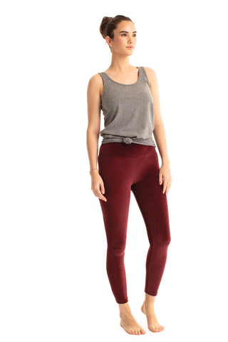 Velour Basic Legging