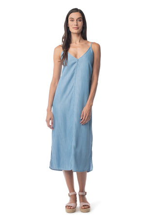 Bi-Coastal Slip Dress  - Synergy Organic Clothing