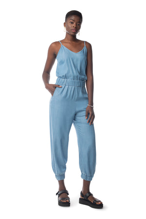 Toujours Jumpsuit LIGHT WASH / XS - Synergy Organic Clothing
