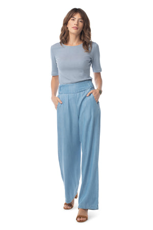 Breeze Pant LIGHT WASH / XS - Synergy Organic Clothing