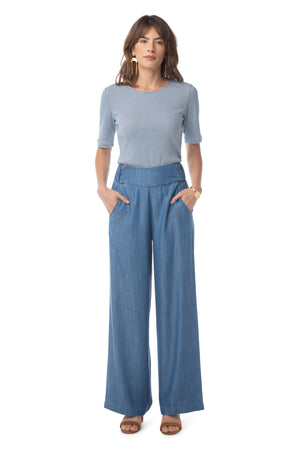 Breeze Pant MEDIUM WASH / XS - Synergy Organic Clothing