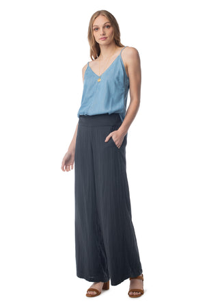 Basis Camisole LIGHT WASH / XS - Synergy Organic Clothing