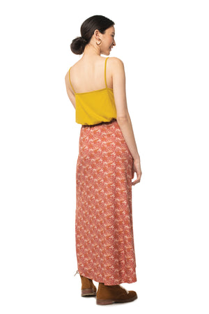 Floral Glastonbury Maxi Skirt  - Synergy Organic Clothing