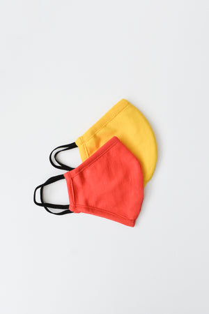 Child Solid Face Mask Assorted / OS - Synergy Organic Clothing