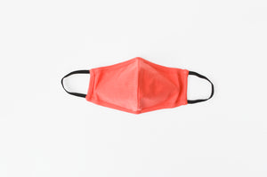 Child Solid Face Mask  - Synergy Organic Clothing