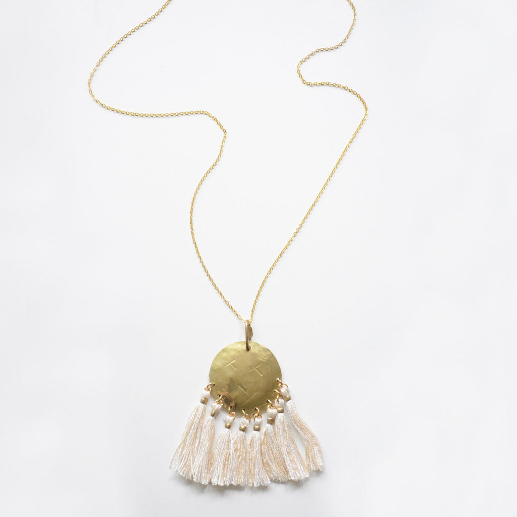 Accessories - Nomad Necklace In White