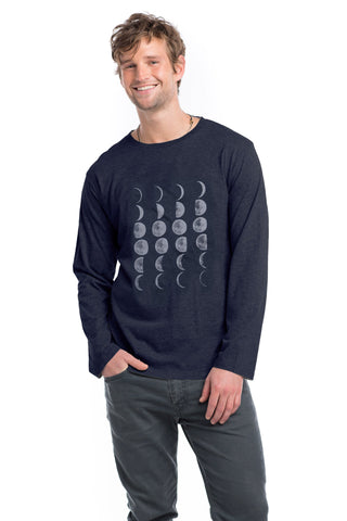 Men - Moon Phases Classic Long Sleeve