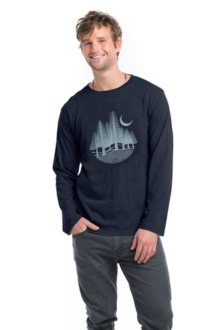 Men - Night Sky Classic Long Sleeve
